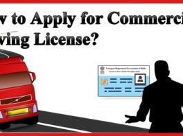 How to Apply for Commercial Driving License
