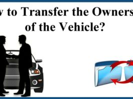 How to Transfer the Ownership of the Vehicle
