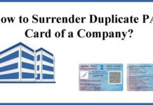 How-to-Surrender-Duplicate-PAN-Card-of-a-Company