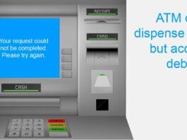 ATM Cash Disoence Error