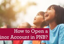 How to open a minor account in PNB