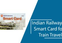 Indian Railways Smart Card for Train Travels-PRS, UTS, RR